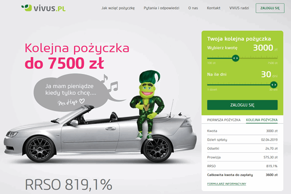 Vivus Stepnica  zadzwoń 600 111 551